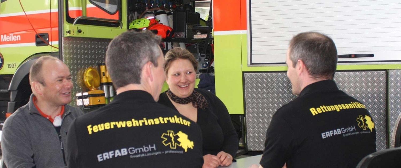 Ernstfall Ausbildung von Rettungsdienst & Feuerweher | ERFAB