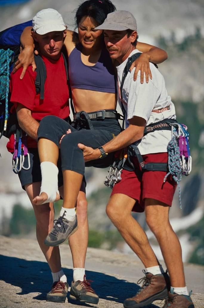 Erste Hilfe beim Bergsteigen in der Schweiz