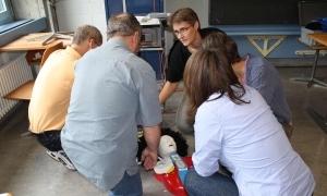 Erste Hilfe Praxis Unterricht