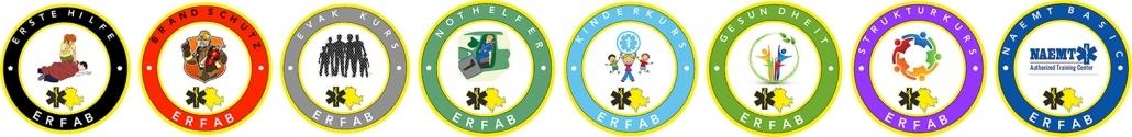 Kursübersicht ERFAB | Erste Hilfe Kurse in der Schweiz